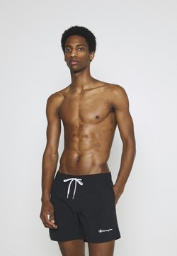 Champion - BEACH - Swimming shorts - black