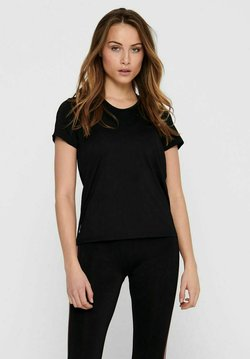 ONLY Play - ONPBAKO TRAINING TEE - T-shirt con stampa - black