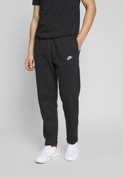 Nike Sportswear - CLUB PANT - Jogginghose - black/white