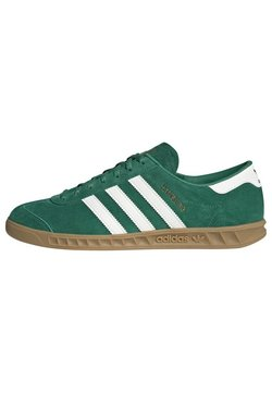 adidas Originals - HAMBURG TERRACE - Sneaker low - green off white gum