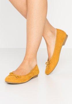 Jana - Klassischer  Ballerina - saffron
