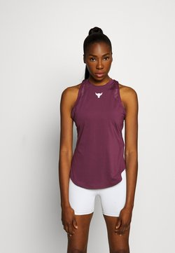 Under Armour - PROJECT ROCK TANK - Funktionsshirt - level purple