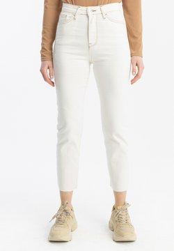 Touché Privé - Straight leg jeans - white
