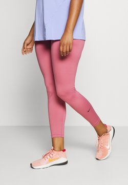 Nike Performance - ONE PLUS  - Tights - desert berry