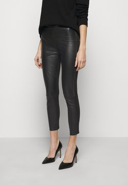 Pinko - FLAVIO TROUSERS - Leggings - Hosen - black