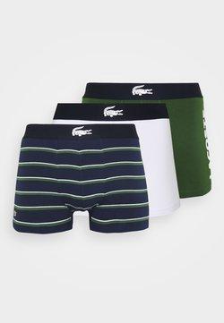 Lacoste - 3 PACK - Panties - thym/marine/blanc