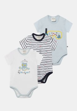 Jacky Baby - OCEAN CHILD 3 PACK - Body - white/dark blue