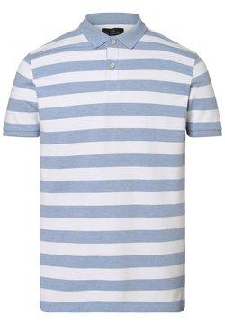 Nils Sundström - Poloshirt - hellblau weiß