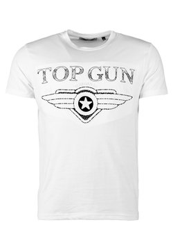 TOP GUN - SCHLICHT BLING - T-shirt print - white