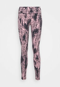 Casall - ICONIC PRINTED  - Tights - survive pink