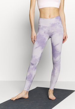 Hey Honey - LEGGINGS TIE DYE - Medias - purple