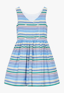 Polo Ralph Lauren - BUTTON  DRESSES - Freizeitkleid - blue