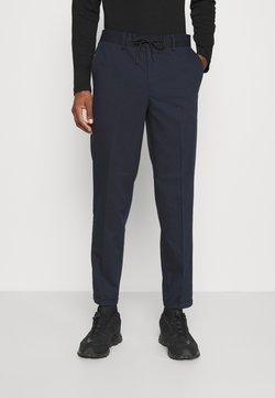 Selected Homme - SLHSLIMTAPERED GUARD STRING PANTS  - Pantaloni - navy