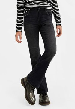 WE Fashion - MEISJES  - Bootcut jeans - dark grey