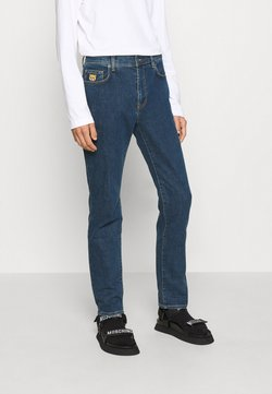 MOSCHINO - TROUSERS - Jeans Straight Leg - fantasy blue