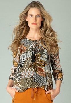 yesta - GIANNINA - Bluse - black multi colour