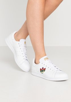 adidas Originals - STAN SMITH - Sneakers laag - footwear white/core black/gold metallic