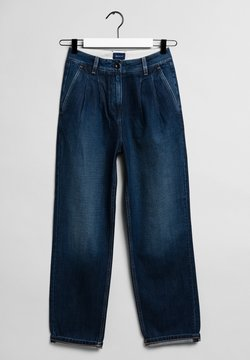 GANT - Jeans relaxed fit - dark blue worn in