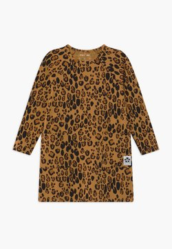 Mini Rodini - BABY BASIC LEOPARD DRESS - Jerseykleid - beige