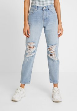 Miss Selfridge - EXTREME RIP - Relaxed fit jeans - light blue