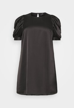 Vero Moda Curve - VMFRIDA SHORT DRESS - Freizeitkleid - black