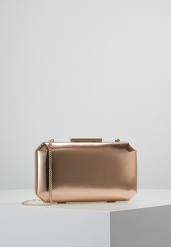 Forever New - TARA GEO BOX - Kopertówka - metallic rose gold