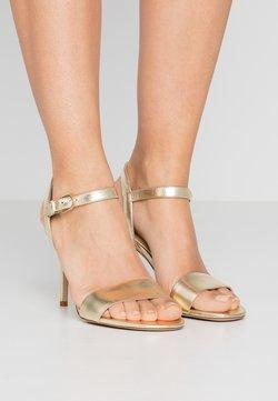 Lauren Ralph Lauren - METALLIC GWEN - High Heel Sandalette - pale gold