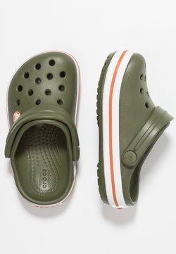 Crocs - CROCBAND - Badslippers - army green/burnt sienna