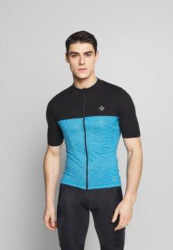 Triple2 - VELOZIP NUL MEN - T-Shirt print - mykonos blue