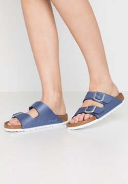 Birkenstock - ARIZONA - Tofflor & inneskor - icy metallic/azure blue