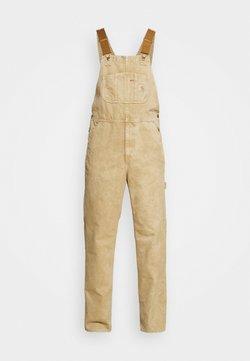 Carhartt WIP - BIB OVERALL DEARBORN - Tuinbroek - dusty brown worn