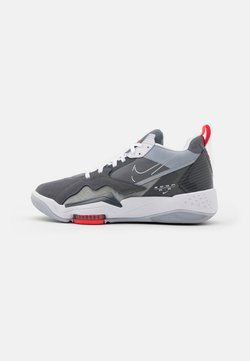 Jordan - ZOOM '92 - Sneaker high - cool grey/white/dark grey/sky grey/bright crimson