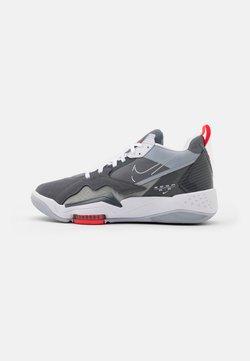 Jordan - ZOOM '92 - Sneakers hoog - cool grey/white/dark grey/sky grey/bright crimson