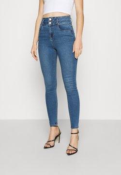 New Look - LIFT AND SHAPE HIGHWAIST - Jeans Skinny - mid blue