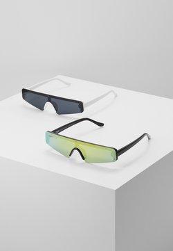 Urban Classics - SUNGLASSES 2 PACK - Gafas de sol - black/multicolour/white