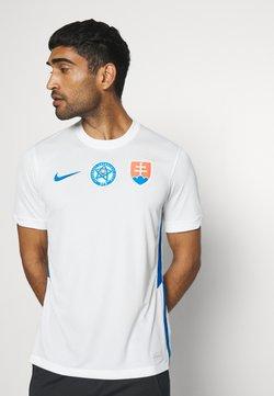 Nike Performance - SLOWAKEI SFZ AWAY - Voetbalshirt - Land - white/soar