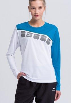 Erima - Funktionsshirt - White/blue