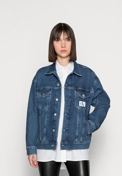 Calvin Klein Jeans - DENIM JACKET - Veste en jean - blue