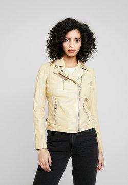 Gipsy - PGG LABAGV - Leren jas - pale yellow