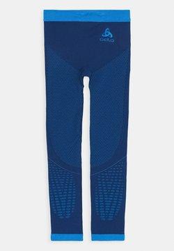 ODLO - BOTTOM PANT PERFORMANCE WARM KIDS UNISEX - Kalesony - estate blue/directoire blue