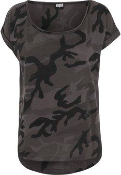 Urban Classics - CAMO  - T-Shirt print - black