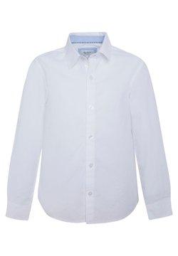 Pepe Jeans - NEW NATE - Vapaa-ajan kauluspaita - blanco