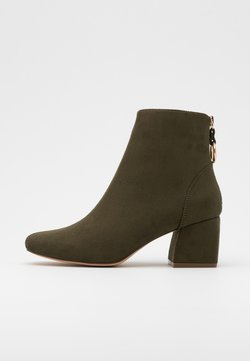 ONLY SHOES - ONLBILLIE LIFE HEELED BOOT  - Stiefelette - khaki