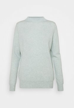 Davida Cashmere - FUNNEL NECK - Neule - light green