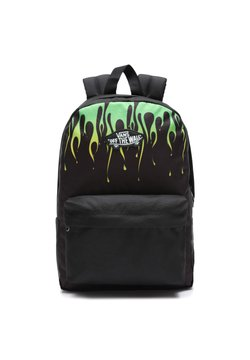 Vans - UY NEW SKOOL BACKPACK BOYS - Ryggsäck - black/slime