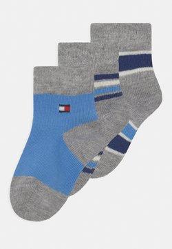 Tommy Hilfiger - BABY NEWBORN STRIPE GIFTBOX 3 PACK UNISEX - Calcetines - blue
