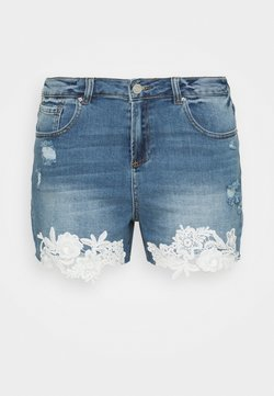 Simply Be - Jeans Shorts - vintage indigo