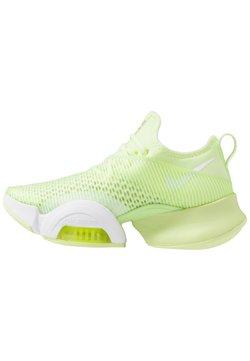 Nike Performance - AIR ZOOM SUPERREP - Sports shoes - barely volt/black/white/volt