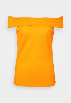 Vero Moda - VMAMAYA OFF SHOULDER - Top - saffron