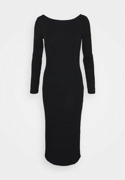 Armani Exchange - VESTITO - Robe longue - black